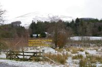 snow at carole and adrian newcastleton roxburghshire scotland scottish borders arnton fell april 2008 avril copyright free photo royalty free photo