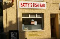 batty bat fish bar bangor north wales april 2008 avril copyright free photo royalty free photo