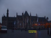 Provincial Palace (Provinciaal Hof) home of the regional government of West Flanders (West Vlaanderen) Bruges Belgium copyright free photo royalty free photo January 2007
