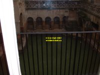 Roman reservoir under the Pump Room Bath Somerset England copyright free photo royalty free photo