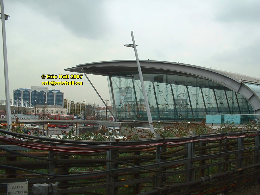 Stratford Station East London Olympic Games 2012 main entrance copyright free photo royalty free photo