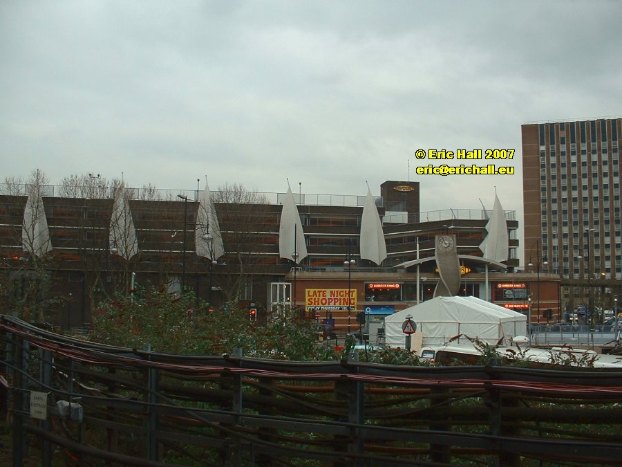 Sails on multi-storey car park Stratford East London Olympic Games 2012 copyright free photo royalty free photo